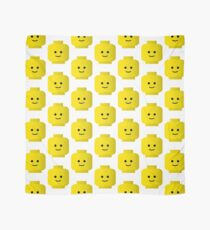 Smiley Minifig Head by Customize My Minifig Scarf