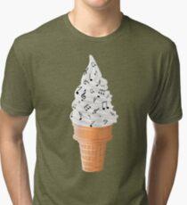 Tasty Tunes Tri-blend T-Shirt