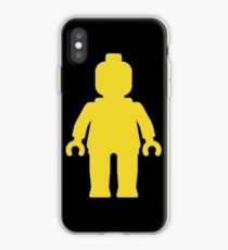 Minifig [Yellow]  iPhone Case