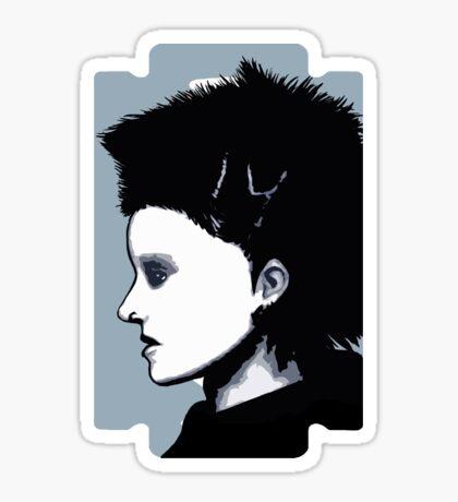 Lisbeth Salander Razor Blade Sticker