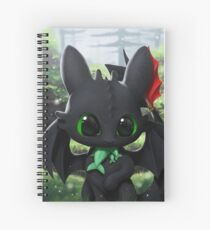 Toothless Cahier à spirale