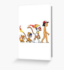 the real evolution Greeting Card