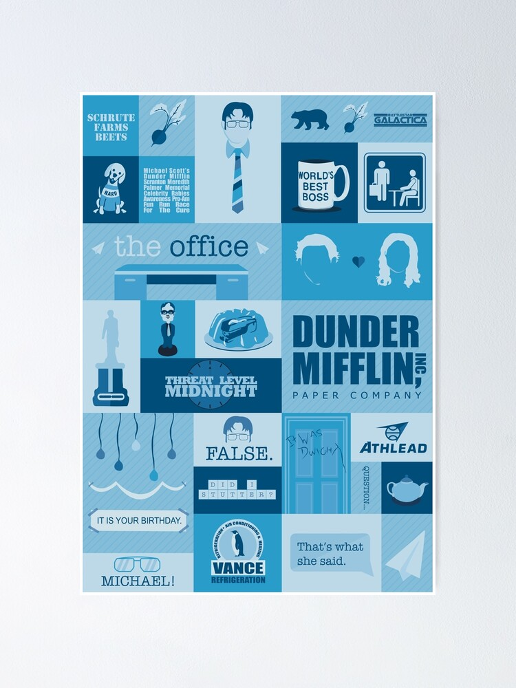 Alternate view of The Office Poster