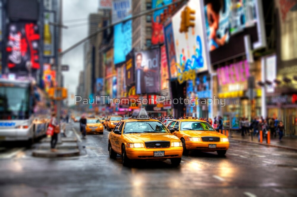 Times Square Tilt & Shift by Paul Thompson Photography