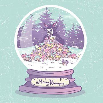 Merry Krampus by valexn