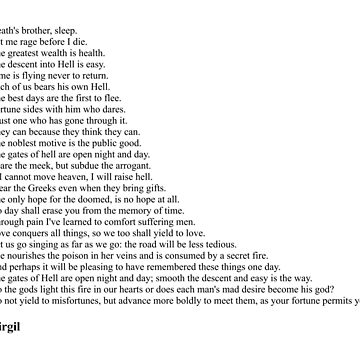 Virgil Quotes by qqqueiru