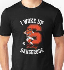I Woke Up Feeling Dangerous Mayfield Browns Football T-shirt Unisex T-Shirt