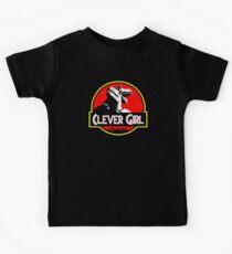 Kluges Mädchen II Kinder T-Shirt