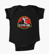 Clever Girl II Short Sleeve Baby One-Piece