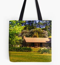 Lavender Fields Cottage, front on Tote Bag