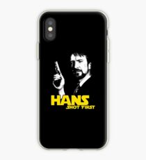 Hans Shot First iPhone Case