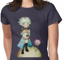 Wintry Little Prince T-shirt Womens Fitted T-Shirt