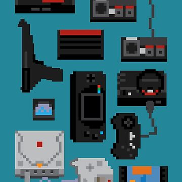 Pixel History - Sega by Pootermobile04