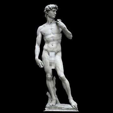 Well Hung Michelangelo's David by RyanJGill