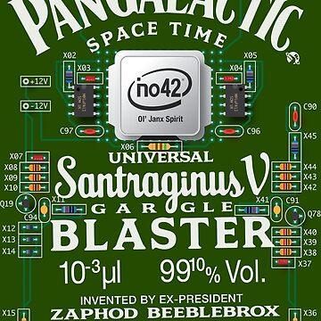 Pan Galactic Gargle Blaster - Circuit Board by Malupali
