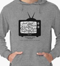 'Creature Binge Watch' for those who aren't fans of black clothing ... (why?!) Lightweight Hoodie