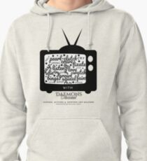 'Creature Binge Watch' for those who aren't fans of black clothing ... (why?!) Pullover Hoodie