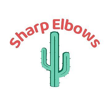 Beware! Sharp Elbows by misterpillows
