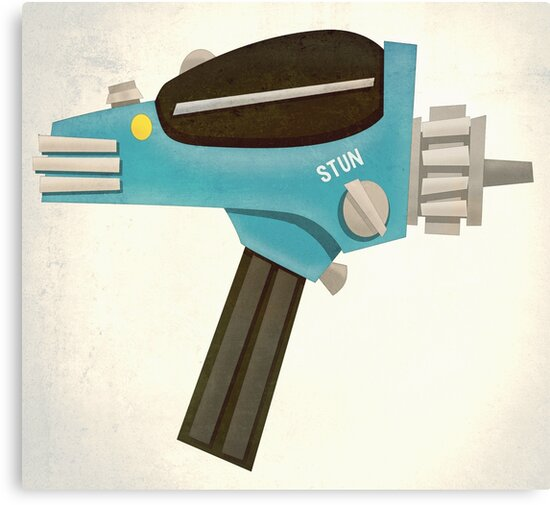 Set phasers to stun! by LAZY  J