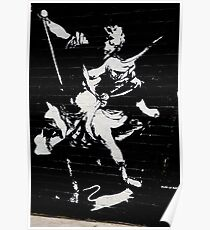 Graffiti by Blek Le Rat Poster