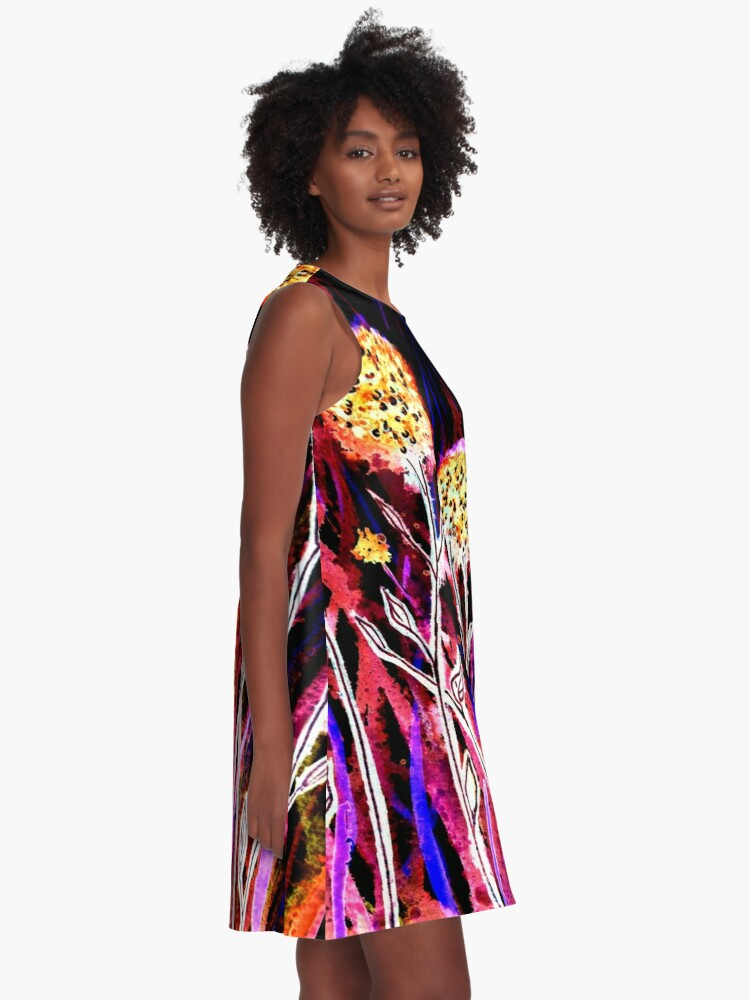 Alternate view of Melody of Flowers A-Line Dress