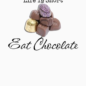 Eat Chocolate by Barbie