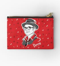 Danny McGough 50s style poster by Mad Twins Zipper Pouch
