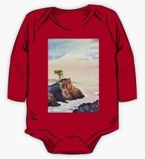 Lone Cypress Tree Pebble Beach California One Piece - Long Sleeve