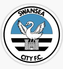 Swansea City FC logo (Old Style 1992-1993) Sticker