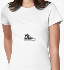 Shoe  Women's Fitted T-Shirt