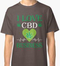 I Love CBD Business Classic T-Shirt
