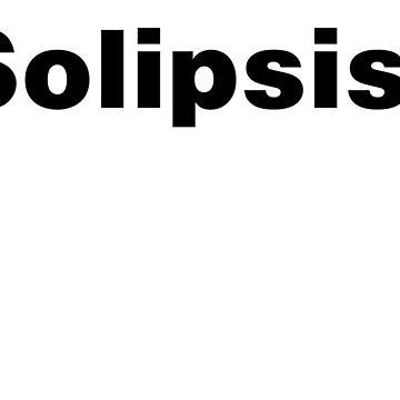 Solipsist - blanc by GodsAutopsy