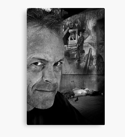 Homeless (008) Canvas Print