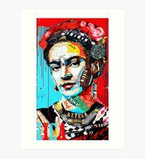 Leinwandbild Frida Kahlo Kunstdruck