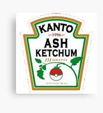 ash ketchum Canvas Print