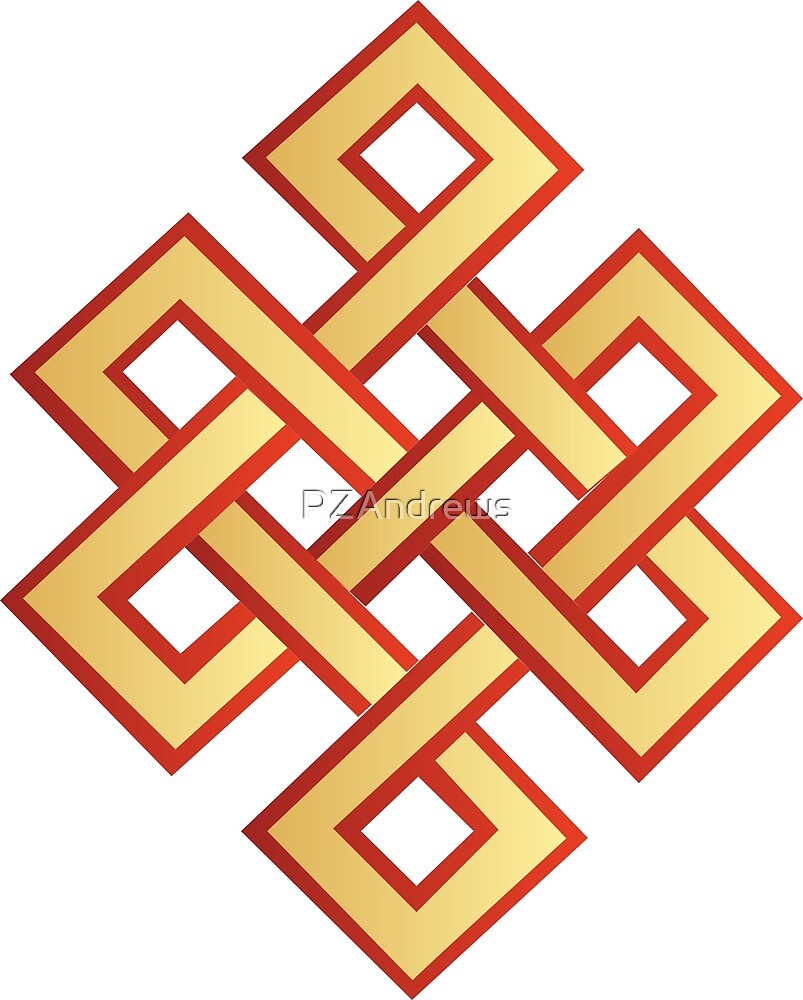 Tibetan Endless Knot by PZAndrews