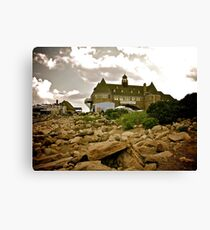 Narragansett Towers - Ocean Road - Rhode Island Canvas Print