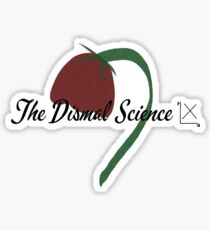The Dismal Science Sticker