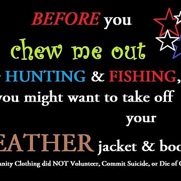 Hunting & Fishing verse PETA by LisaRent
