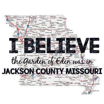 Book of mormon jackson county missouri tank top by - Jackson county missouri garden of eden ...