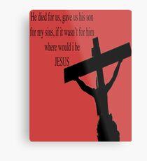 Salvation Metal Print