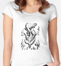 magic axolote Women's Fitted Scoop T-Shirt