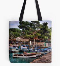 Barche a S.Giovanni li Cuti Tote Bag
