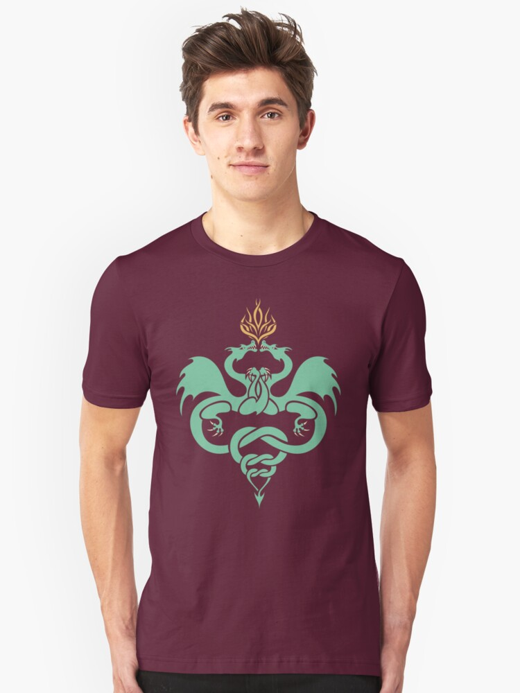 Dragons Entwined Unisex T-Shirt Front