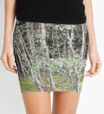 Forest near Loch Ness Mini Skirt