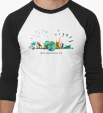 Which Planet Are You On? - version 3 Men's Baseball ¾ T-Shirt