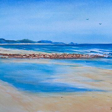 Sisters Beach Tasmania by Ian Shiel by Ruckrova