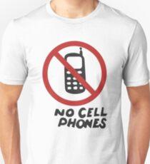 Luke's Diner No Cell Phones  Unisex T-Shirt
