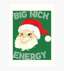 Nick Energy 2 Art Print