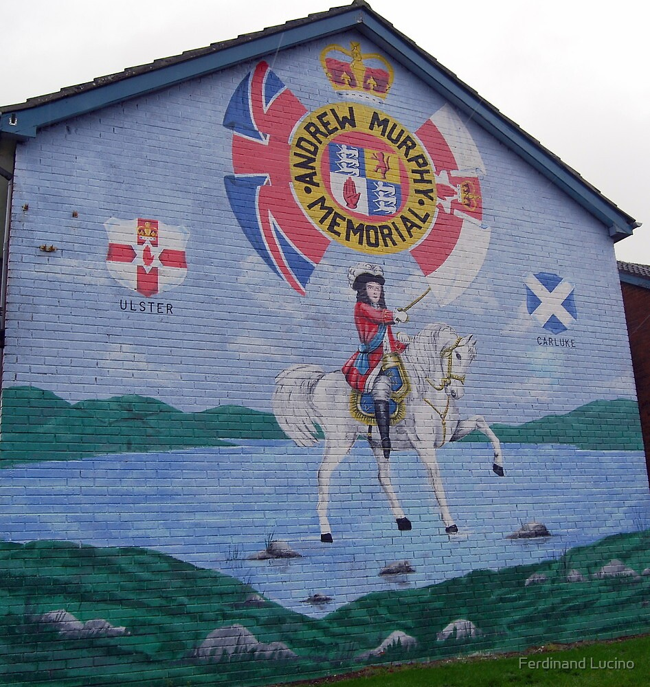 Ulster murals ballyclare northern ireland by ferdinand for Murals on the t shirt